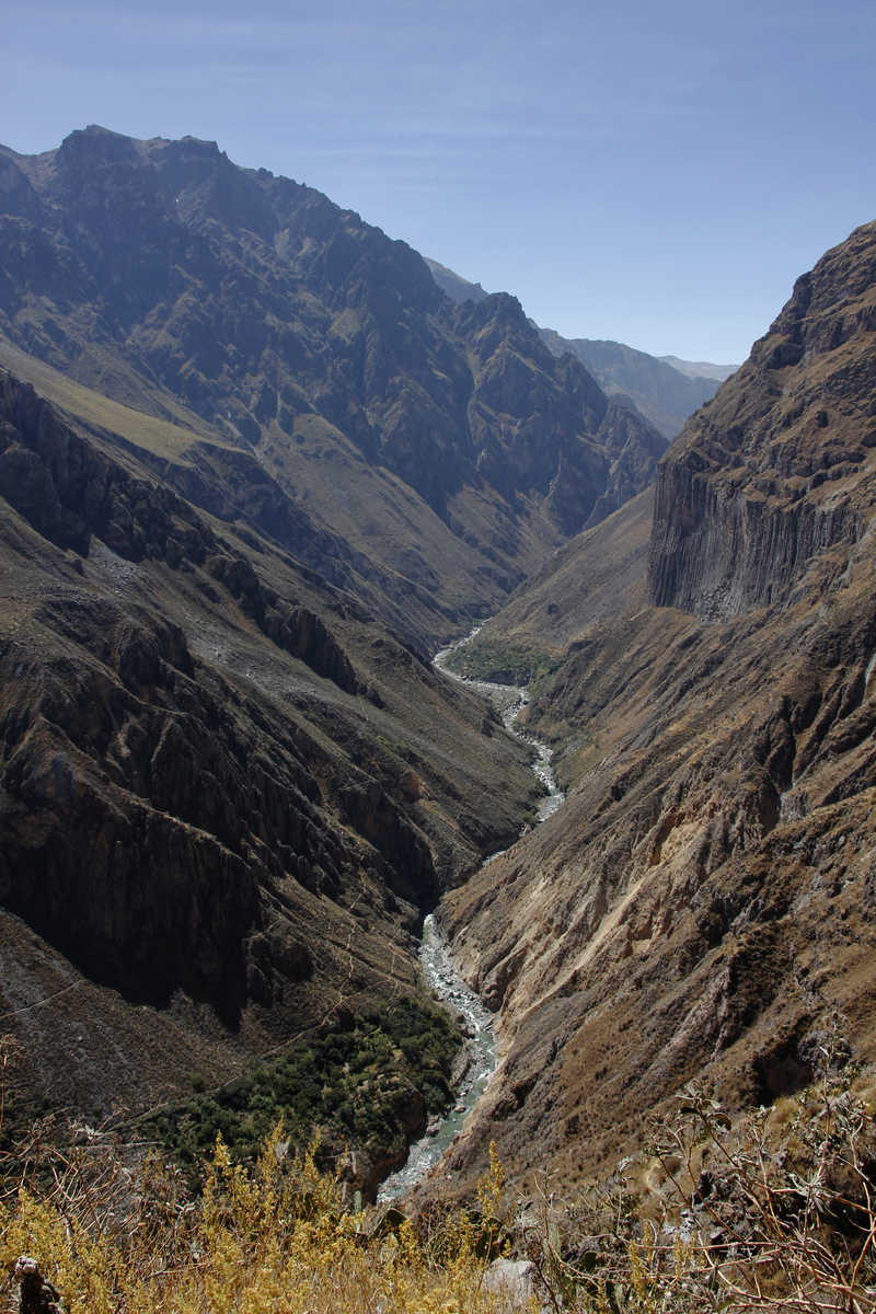 Colca Canyon landscapes